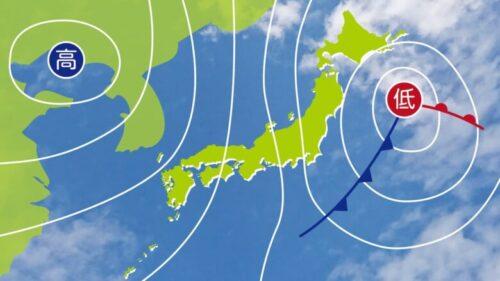 天気図と前線