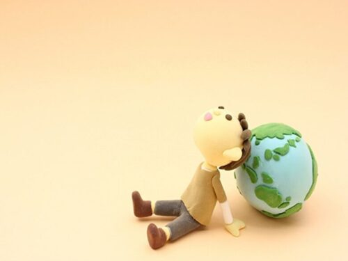 地球とこども