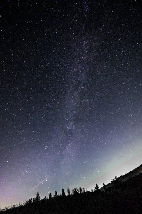 星野村から見た星
