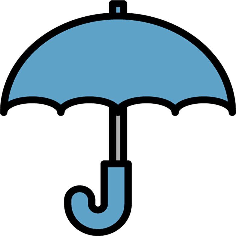 雨の日,傘