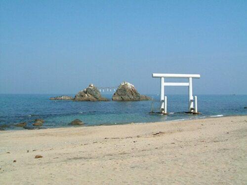 糸島の桜井二見ヶ浦