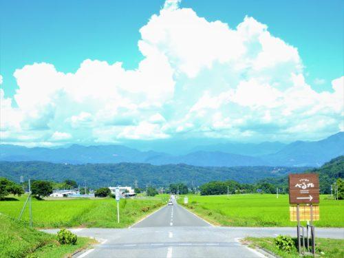 山梨県・尾白の道