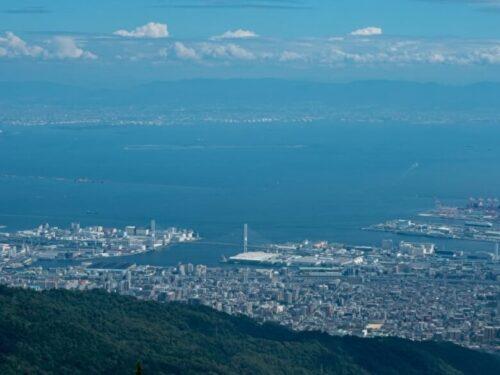 六甲山からの景色