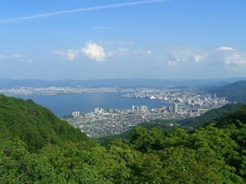 比叡山からの展望