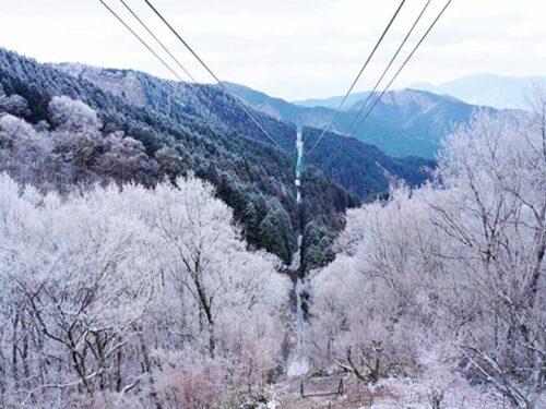金剛山樹氷