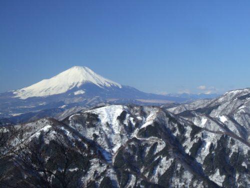神奈川県・大山より富士山