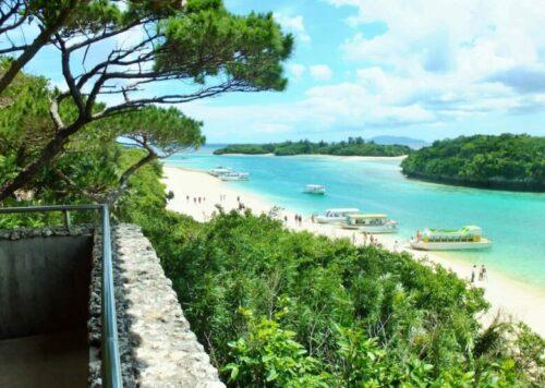 沖縄県・石垣島・川平湾の風景