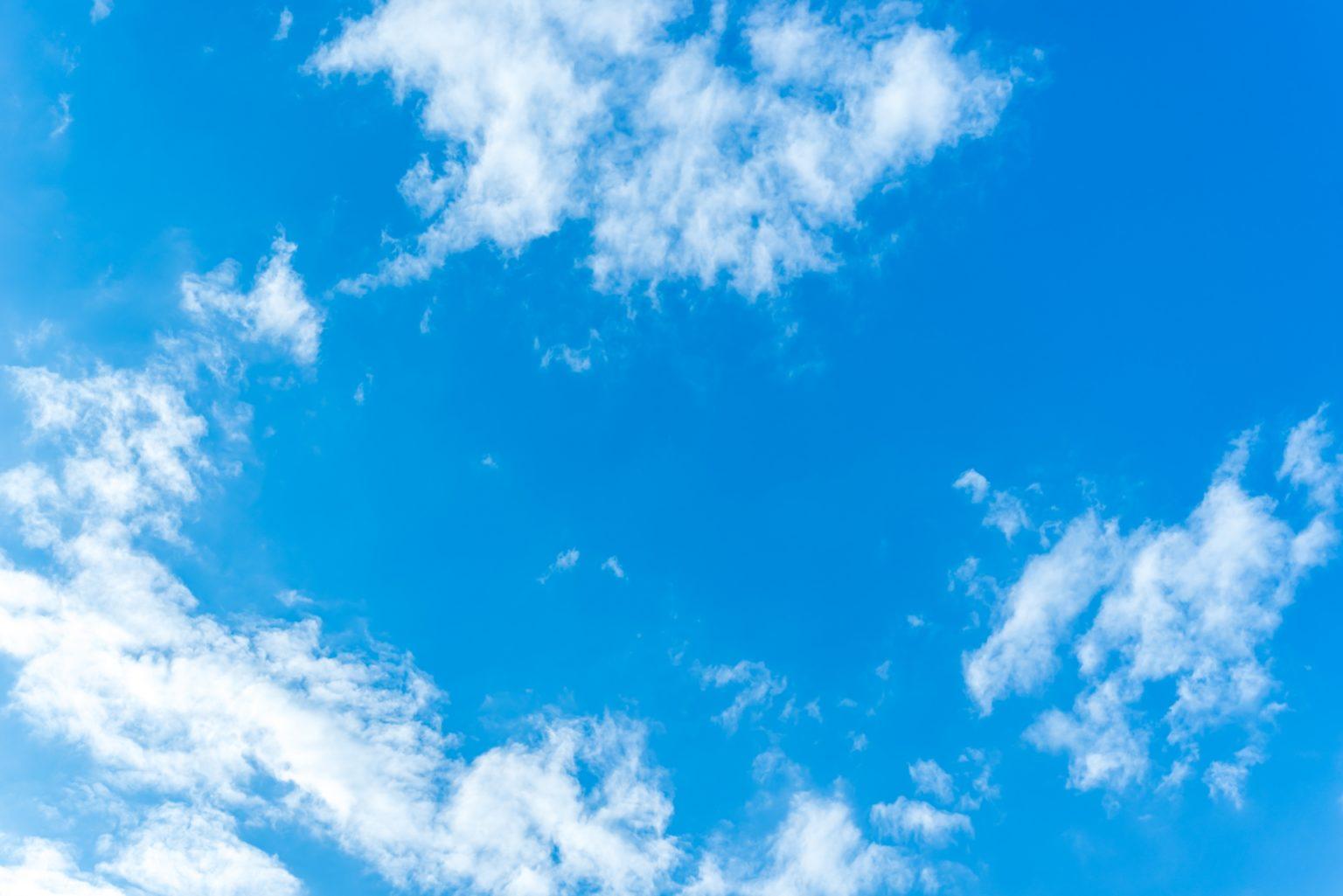 空 青空 空背景