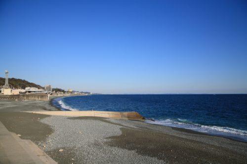 紺碧の湘南海岸