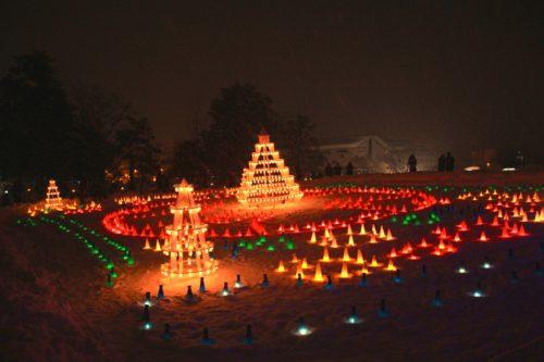 上杉雪灯篭まつり(山形)