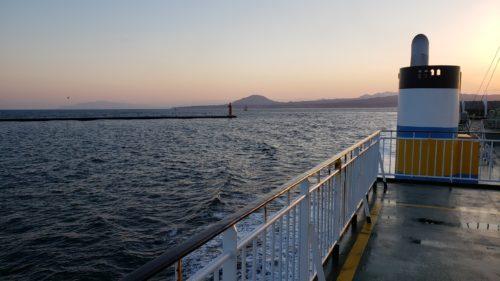 函館 海上からの景色