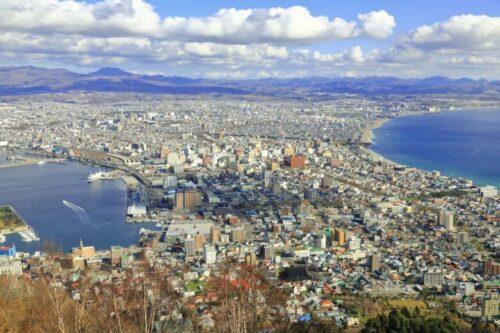 函館山から見る風景