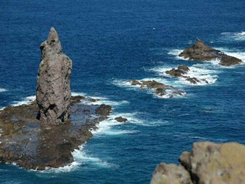 夏の北海道 神威岬