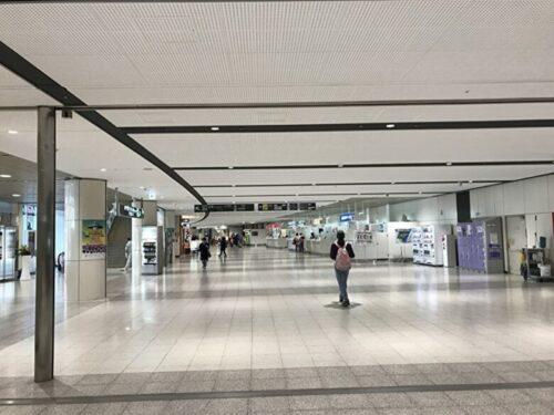 新千歳空港のロビー