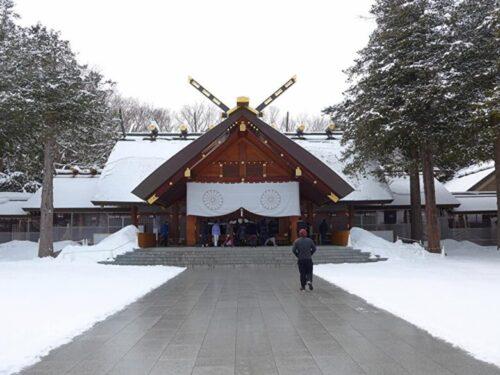 冬の北海道・神宮