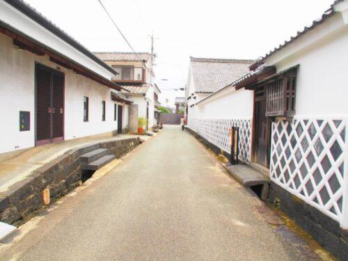 世界遺産・萩城下町のなまこ壁