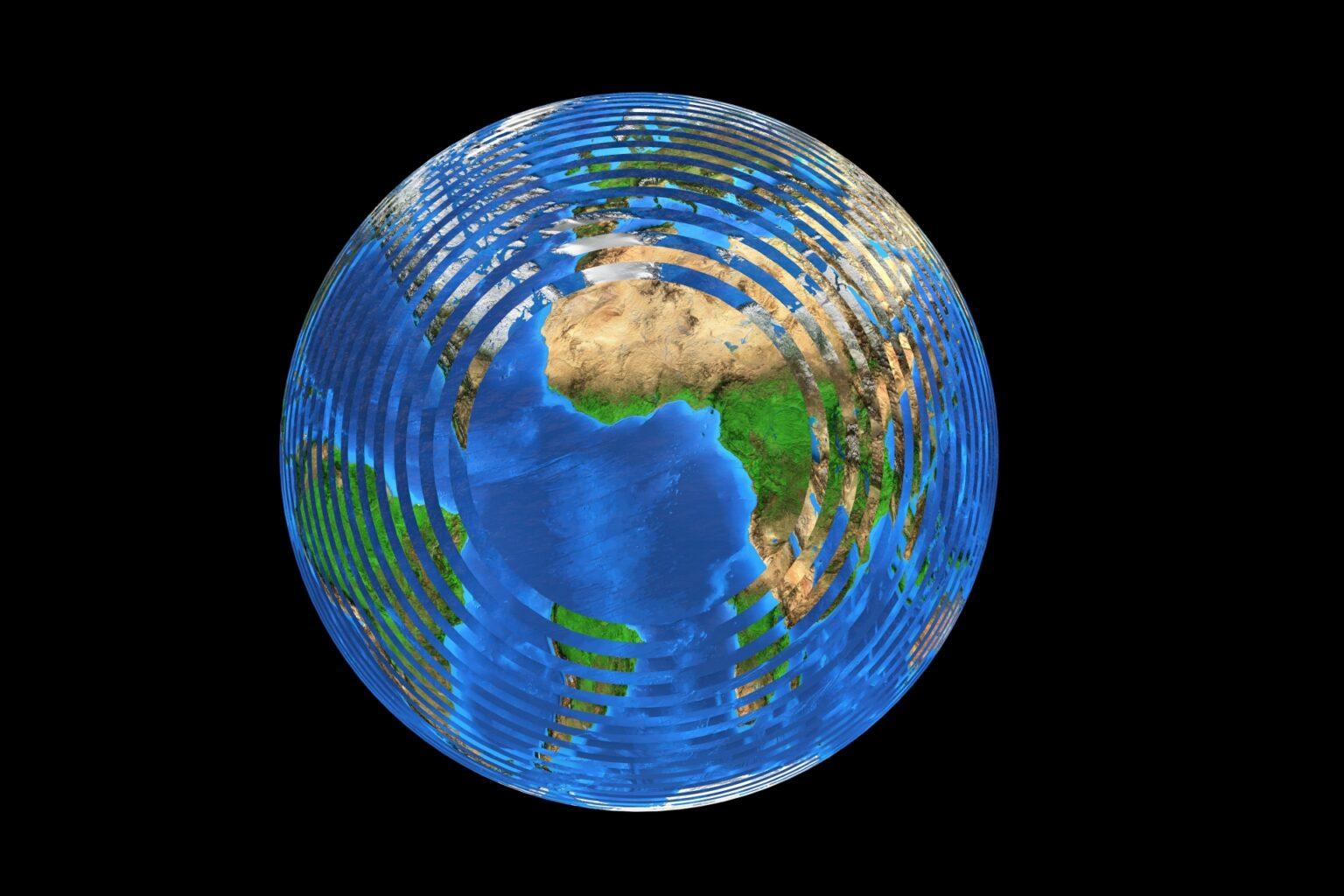 地球温暖化地球SOSの写真
