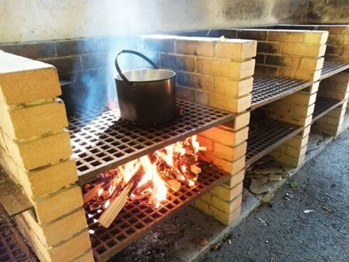 飯盒の炊き方