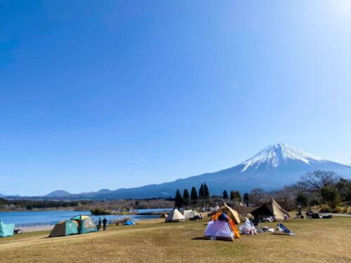 田貫湖 キャンプ