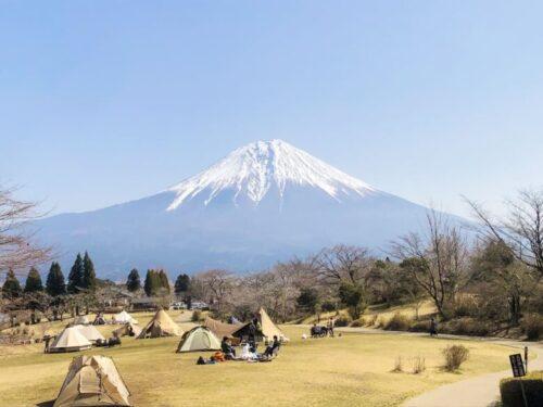 静岡田貫湖キャンプ