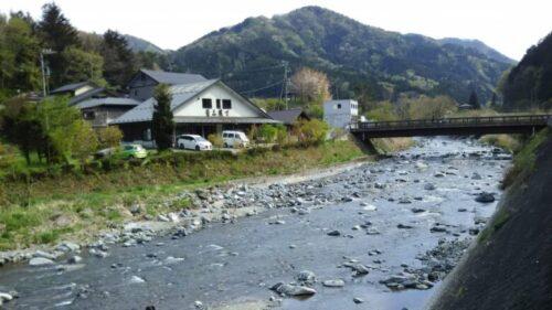 道志村 道の駅からの風景