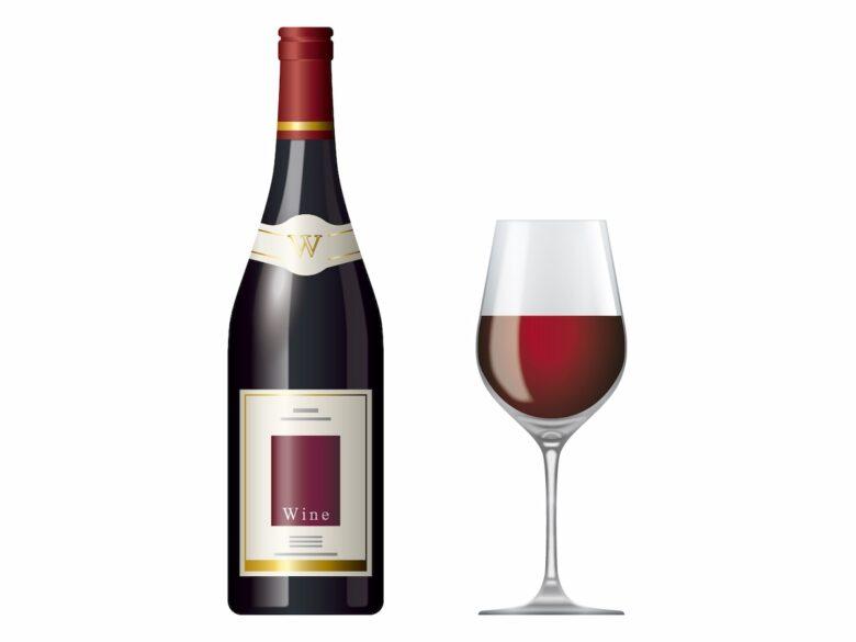 半分のワイン