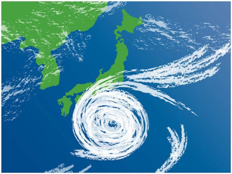台風の様子